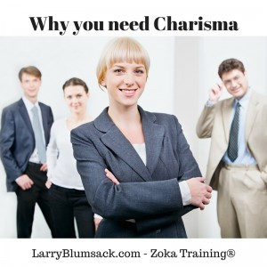 Why you need Charisma