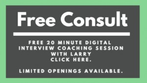 Free consultation with Larry Blumsack, leader of Face to Face techniques.